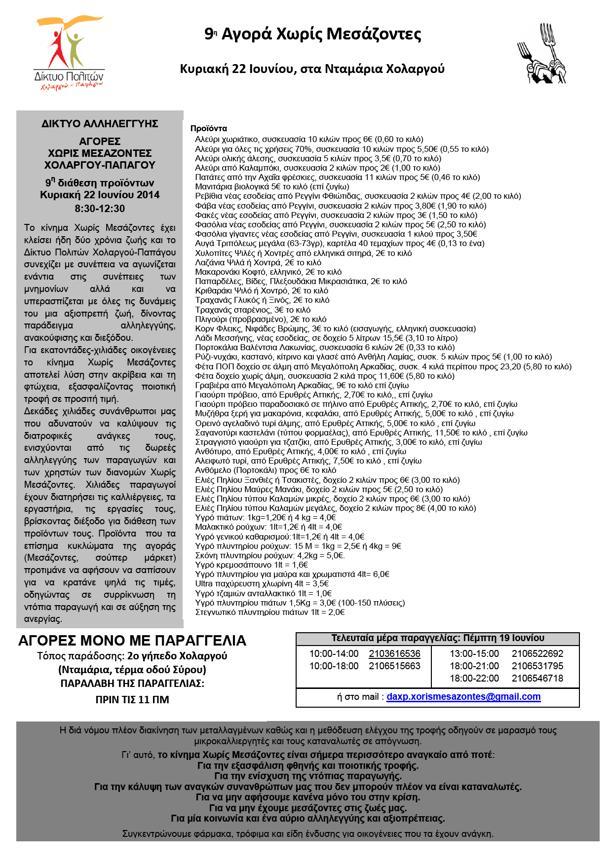 5c3fe26cf0a8 Δίκτυο Πολιτών Χολαργού-Παπάγου